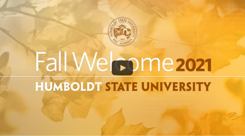 Fall Welcome title slide